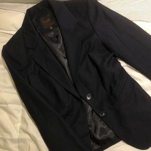 Black/dark navy blazer - size 0